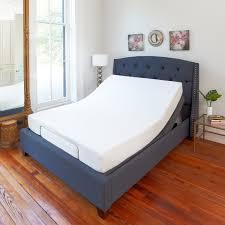bed frame queen electric power adjustable base zero gravity