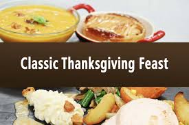 classic thanksgiving feast serves 1 christophe s