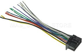 wire harness for pioneer deh 1200mp deh1200mp pay today ships