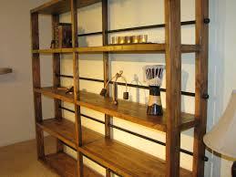 bookshelf rustic style storage design ideas with industrial