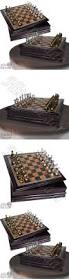 contemporary chess 40856 vintage chess set board game wood