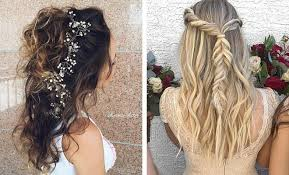maid of honor hairstyles 31 half up half down hairstyles for bridesmaids stayglam