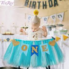 baby birthday fengrise baby birthday blue pink chair banner one year 1st