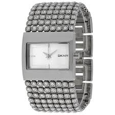 crystal bracelet watches images Open box dkny ladies mesh crystal bracelet watch ny4661 dkny jpg