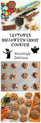 leftover halloween candy cookies easy recipe to use up halloween