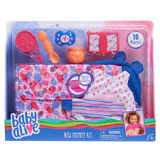 doll clothes toys baby alive new mommy on the go kit