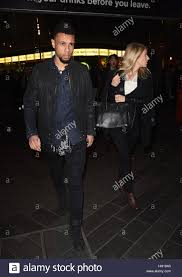 arsenal fc christmas party featuring francis coquelin where stock