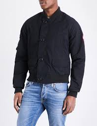 canada goose fader shell er jacket in black for men lyst