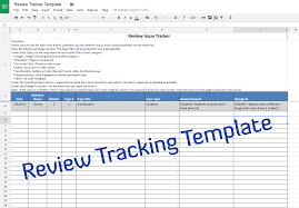 Example Of A Spreadsheet Course Review Tracking Template U2013 Experiencing E Learning