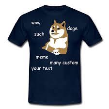 Add Meme Text - trollface t shirts doge wow such custom many internet meme so
