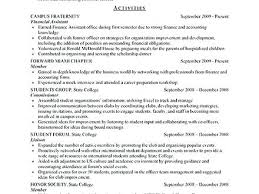 resume sles for college students seeking internships in chicago resume sles for college students luxsos me