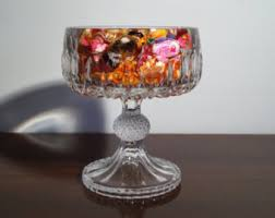 Pedestal Bowls For Centerpieces Pedestal Candy Dish Etsy
