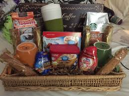 coffee and tea gift baskets coffee gift basket raffle basket gift ideas