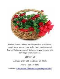 flower delivery san diego buy online flowers by michael flower delivery san diego ca