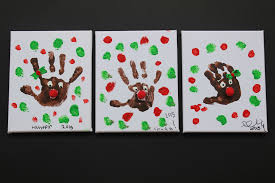 easy christmas craft idea for kids rudolph handprints finlee u0026 me