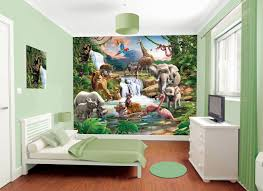 jungle adventure bedroom in a box by walltastic wallpaper direct