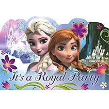 amazon com disney frozen birthday party invitation cards supply