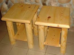 rustic pine end tables best rustic end tables sets and ideas