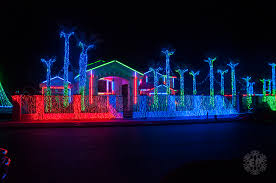 christmas spotlights fred loya christmas light show 2012