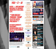 2016 Presidential Election Map People S Pundit Daily by November 8 2016 The Untold Story Of Breitbart U0027s Election Night