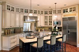 Hampton  Maple  Cherry Canyon Creek Cabinet Company - Above kitchen cabinet storage