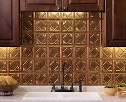 Did You Know That Regular Wallpaper Also Makes A Great Backsplash - Inexpensive backsplash ideas for kitchen