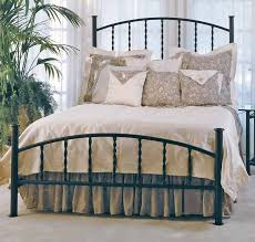 charming wrought iron bed u2014 derektime design romantic and