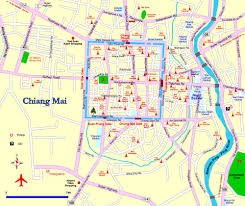 Utd Map First Night In Chiang Mai U2013 Ben Bails Out