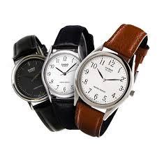 Jam Tangan Casio Mtp jam tangan casio original leather collection ltp mtp 1093 1094