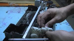 reset manual tx121 epson stylus tx121 printer paper feeder removal youtube
