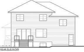 split level homes plans 4 bed contemporary split level home plan 22361dr architectural