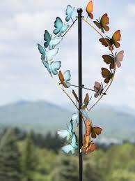 Kinetic Garden Art Wind Spinners Butterfly Wind Spinner Kinetic Art