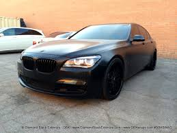 satin black maserati project bmw 750li wrapped in avery satin black aka frozen black by