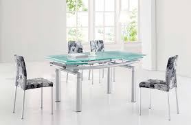 ef 36 dining table with 4 chairs modern dining