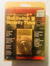 24 hr timer light switch ej341c intermatic programmable 24 hr electronic wall switch security