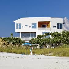 angular modern beach house in florida dwell