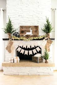 christmas fireplace lights gorgeous mantles mantel holiday