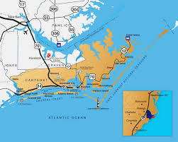 Nc Counties Map Crystal Coast Location U0026 Transportation Carteret Edc