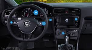 vw golf driver information display explanation and use
