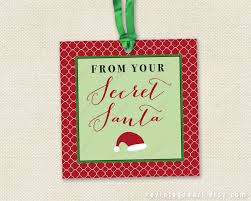 secret santa tags printable christmas gift tags for work