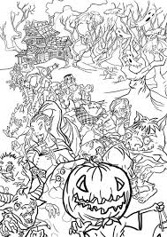 halloween monsters halloween doodles doodle coloring pages
