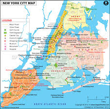 map of new york city with tourist attractions new york city map new york city city maps city