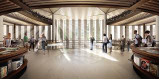 Dbox Rendering Foster Partners U0027 New York Public Library Redesign In State Of