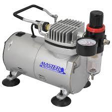 master airbrush compressor model tc 20 with air pressure regulator