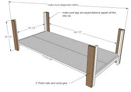 Woodworking Plans For A Coffee Table by Ana White Benchright Coffee Table Diy Projects