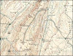Topographical Map Of Georgia Chickamauga U0026 Durham Railroad 1892 Topographic Map