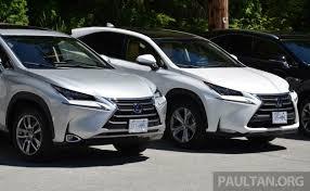 driven lexus nx 200t suv malaysian review
