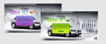 volvo site volvo c30 digital launch campaign splash interactive singapore