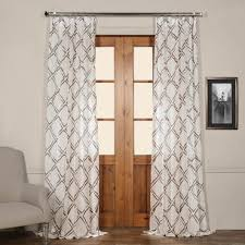 Sheer Embroidered Curtains Pattern U0026 Embroidered Sheer Curtains Sheer Drapes