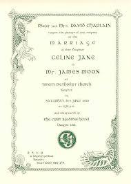 celtic wedding invitations wedding invitations by stationery wedding ideas